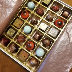 24 piece box of Seasonal Chocolate Bon Bons