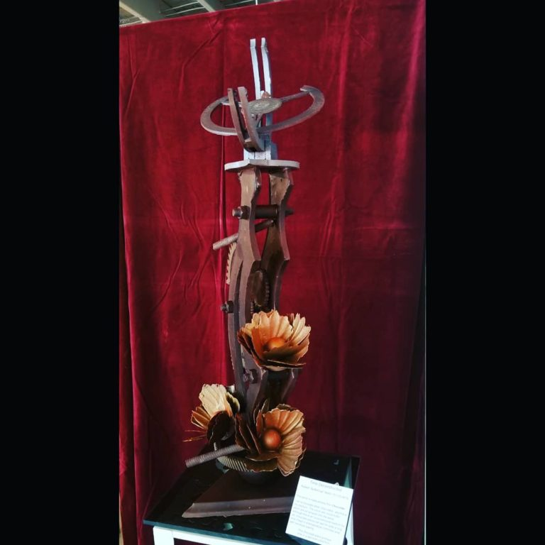 Art Exhibit Chocolate Sculpture